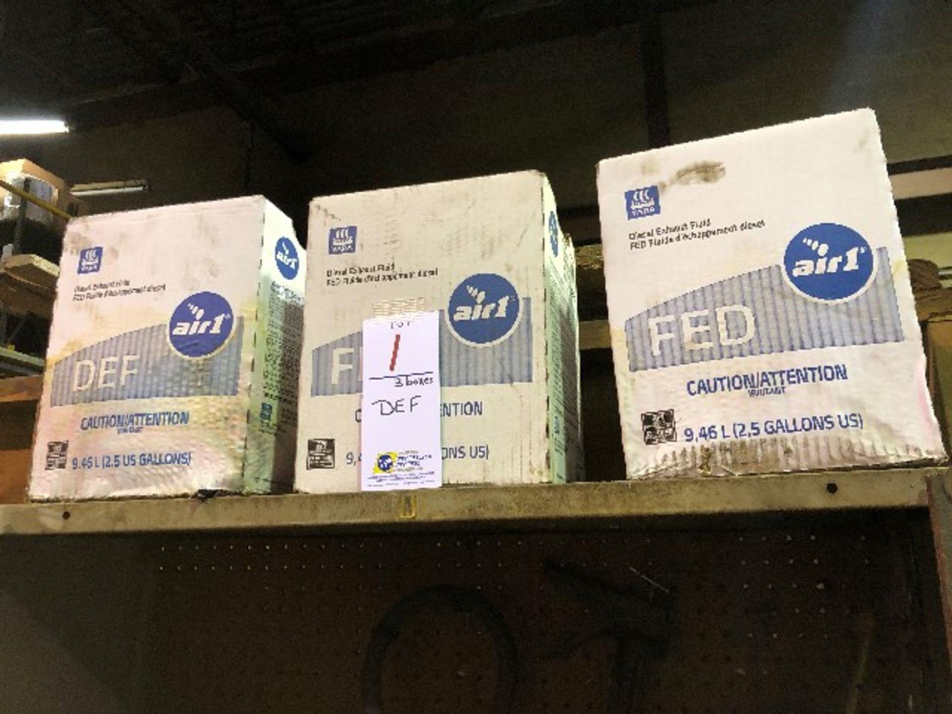 DEF-Diesel exhaust fluid, 9.46L, 3 boxes
