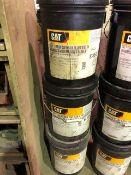 CAT Transmission & drive train oil, SAE 30 & 10W, 3 pails