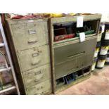 Filing cabinets, 2 pcs (Lot)
