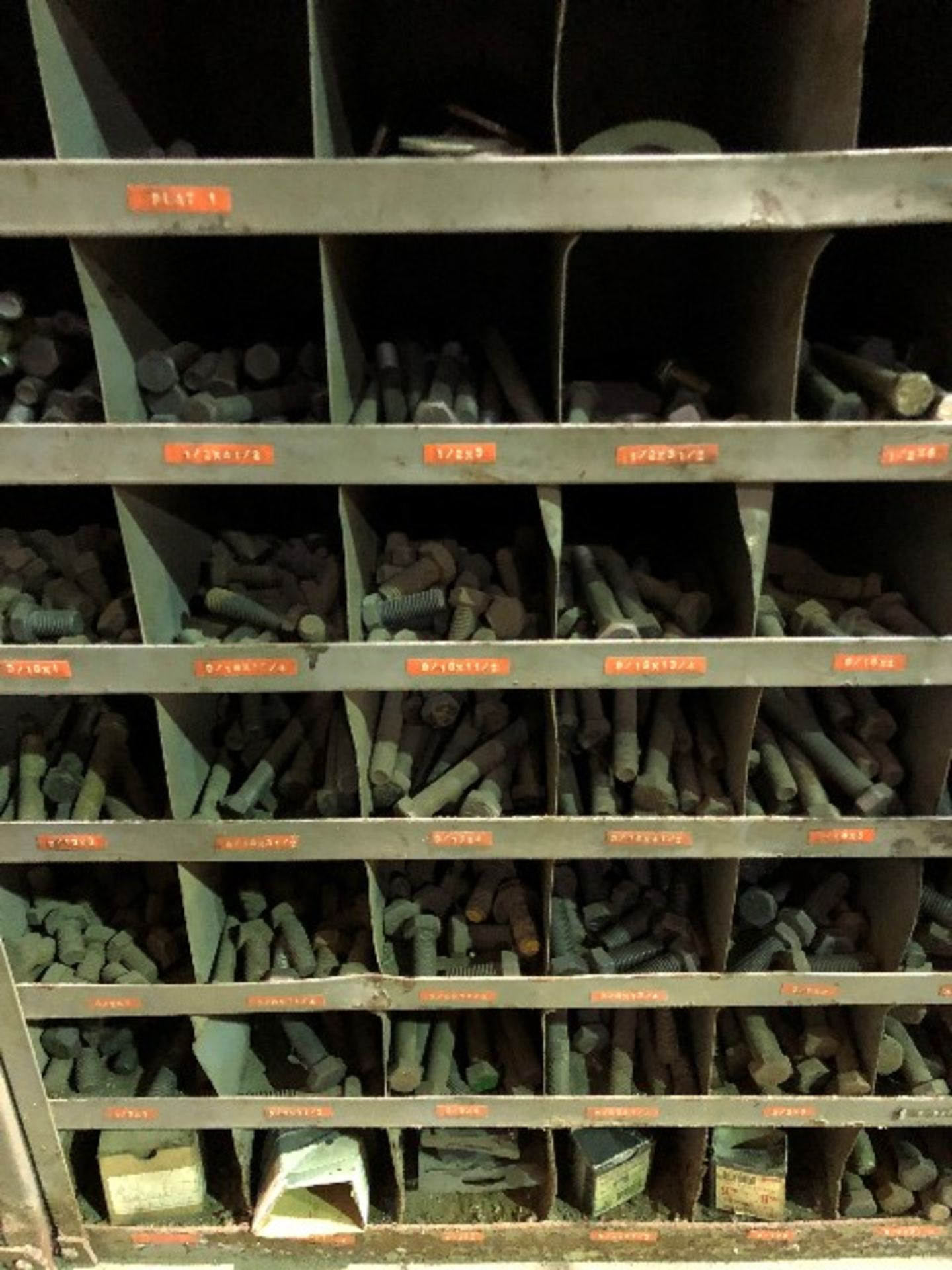 Assorted nuts & bolts, 54 bins (Lot) - Image 2 of 2