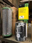 John Deere assorted filters, 3 pcs