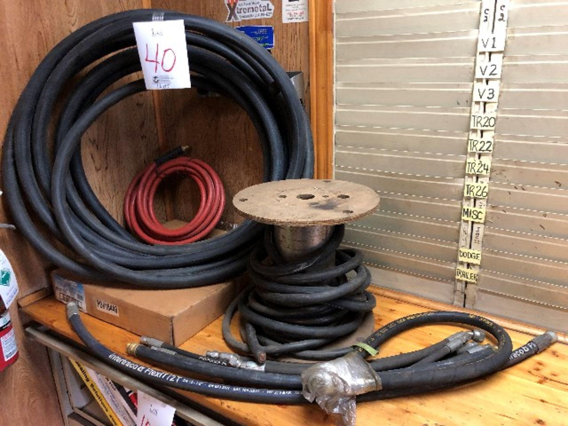 Assorted hoses, etc... (Lot)