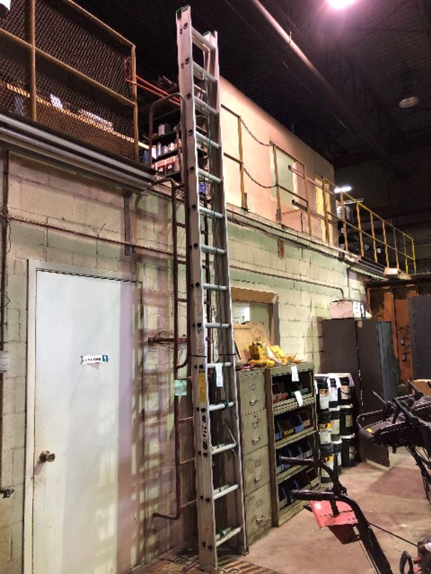 Extension ladder, 25ft