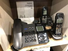 Panasonic KX-TG9391 2-Line phone w/cordless phone, etc...