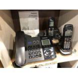 Panasonic KX-TG9391 2-Line phone w/cordless phone, etc...