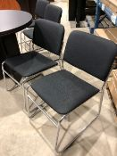 Visitor chairs, 4pcs