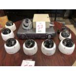 LILIN DVR516D surveillance system, 8 cameras, etc...