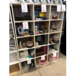 Display stand, 15 cubicles
