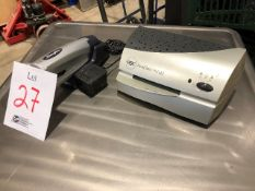 Electric stapler & heat seal unit, 2pcs (Lot)