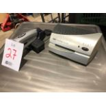 Electric stapler & heat seal unit, 2pcs (Lot)
