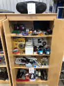 Assorted office supplies, etc... (Lot)
