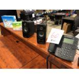 Polycom VVX311 IP phone, speakers, etc..., 4pcs (Lot)