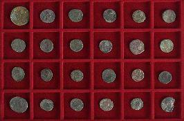 Konvolut Münzen24 röm. Großmünzen in Bronze, ca. 1.-3. Jh. n. Chr..€ 75
