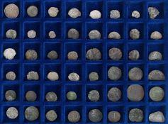 Konvolut48 Silber-Pfennige, um 1600.€ 50