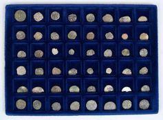Konvolut48 Silberpfennige, um 1600.€ 50