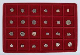 Konvolut24 Silberpfennige, um 1600.€ 35