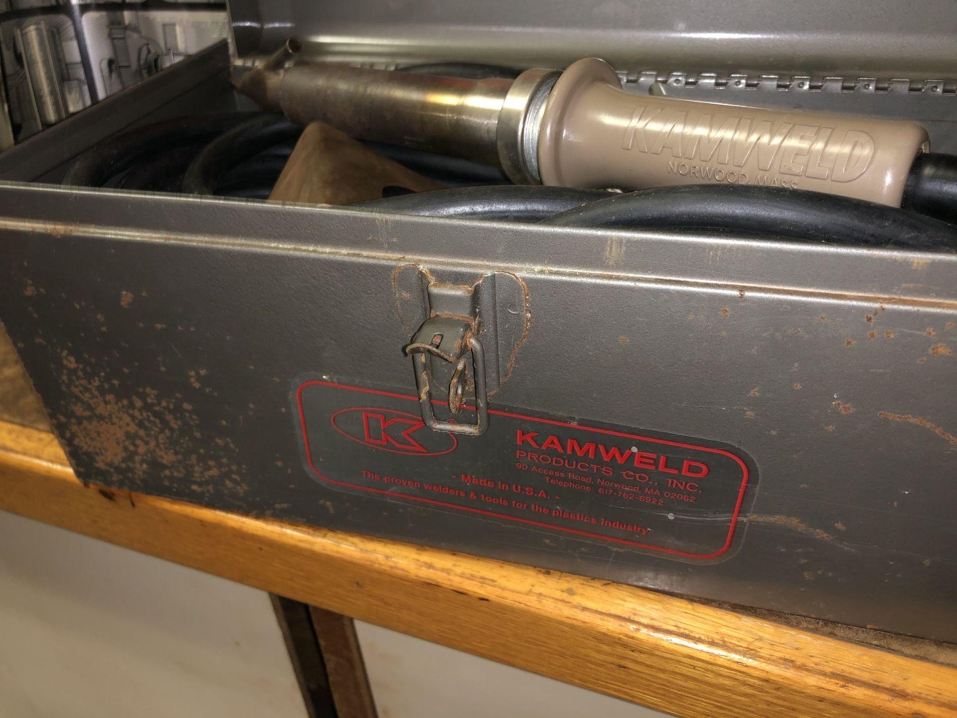 Lot 35 - Kamweld Plastic Welder with Case
