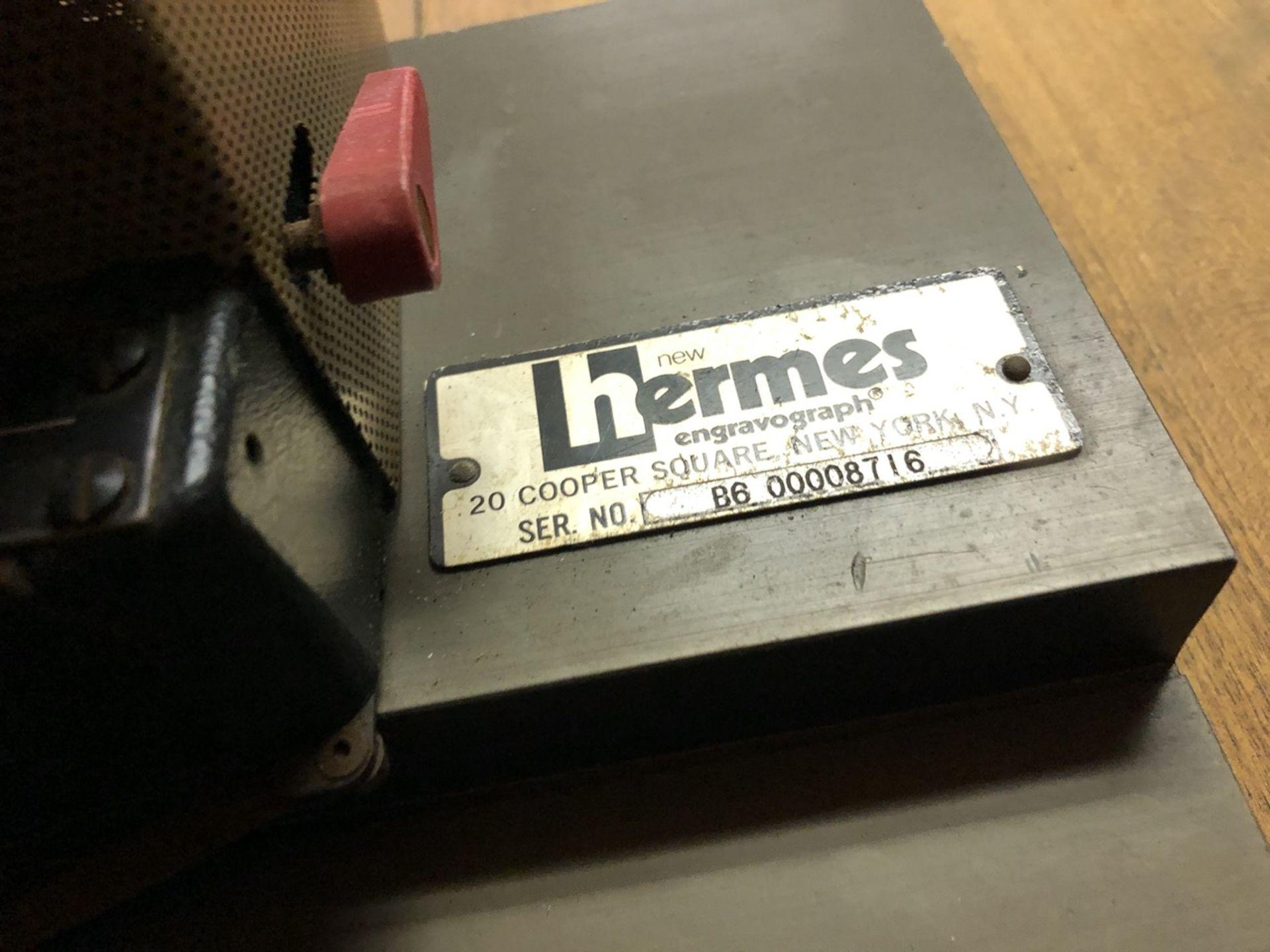 Lot 19 - Hermes Beveler Engravograph
