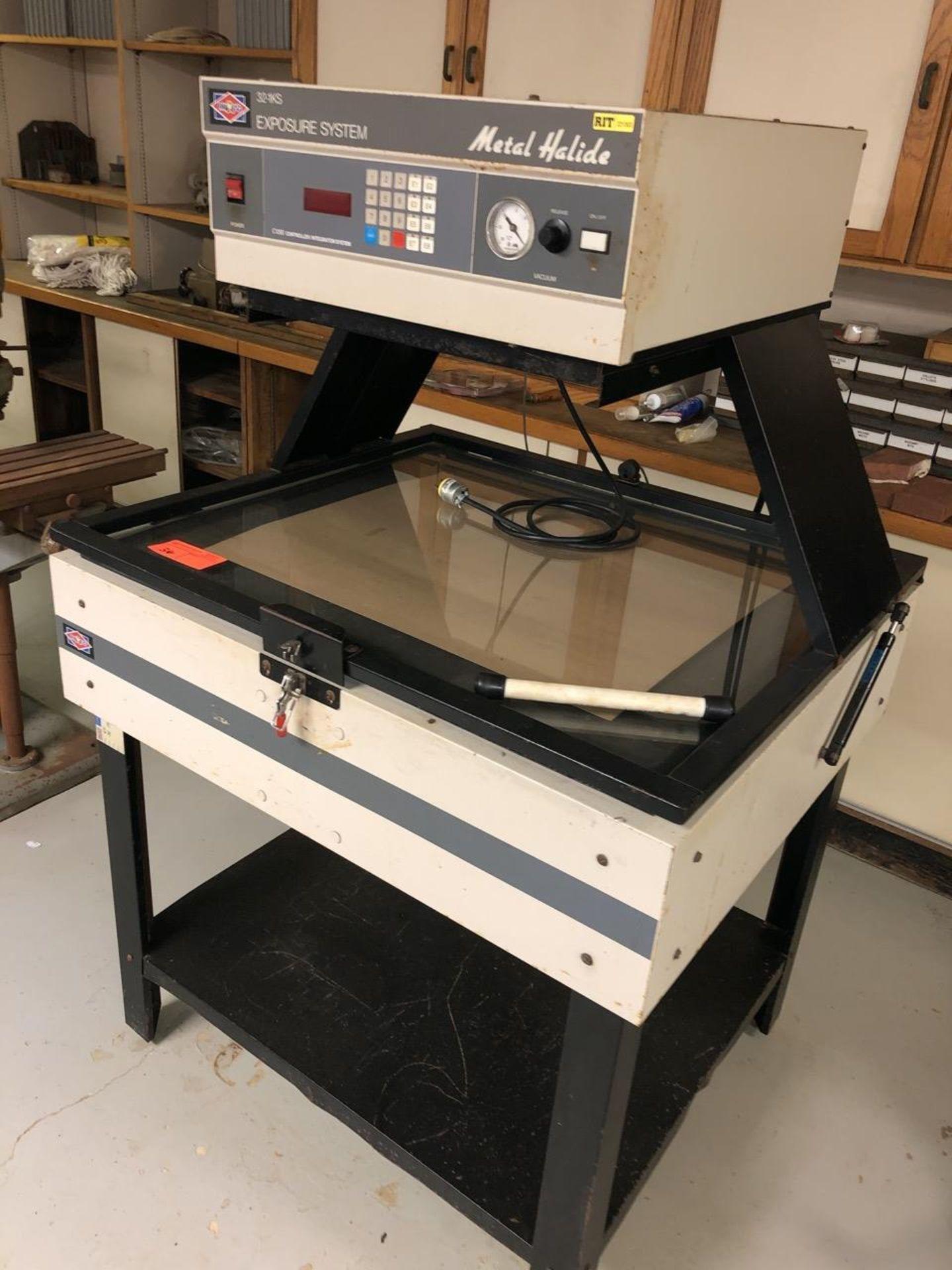 Lot 32 - Naurc 32-1 KS Metal Screen Engraving Exposure System