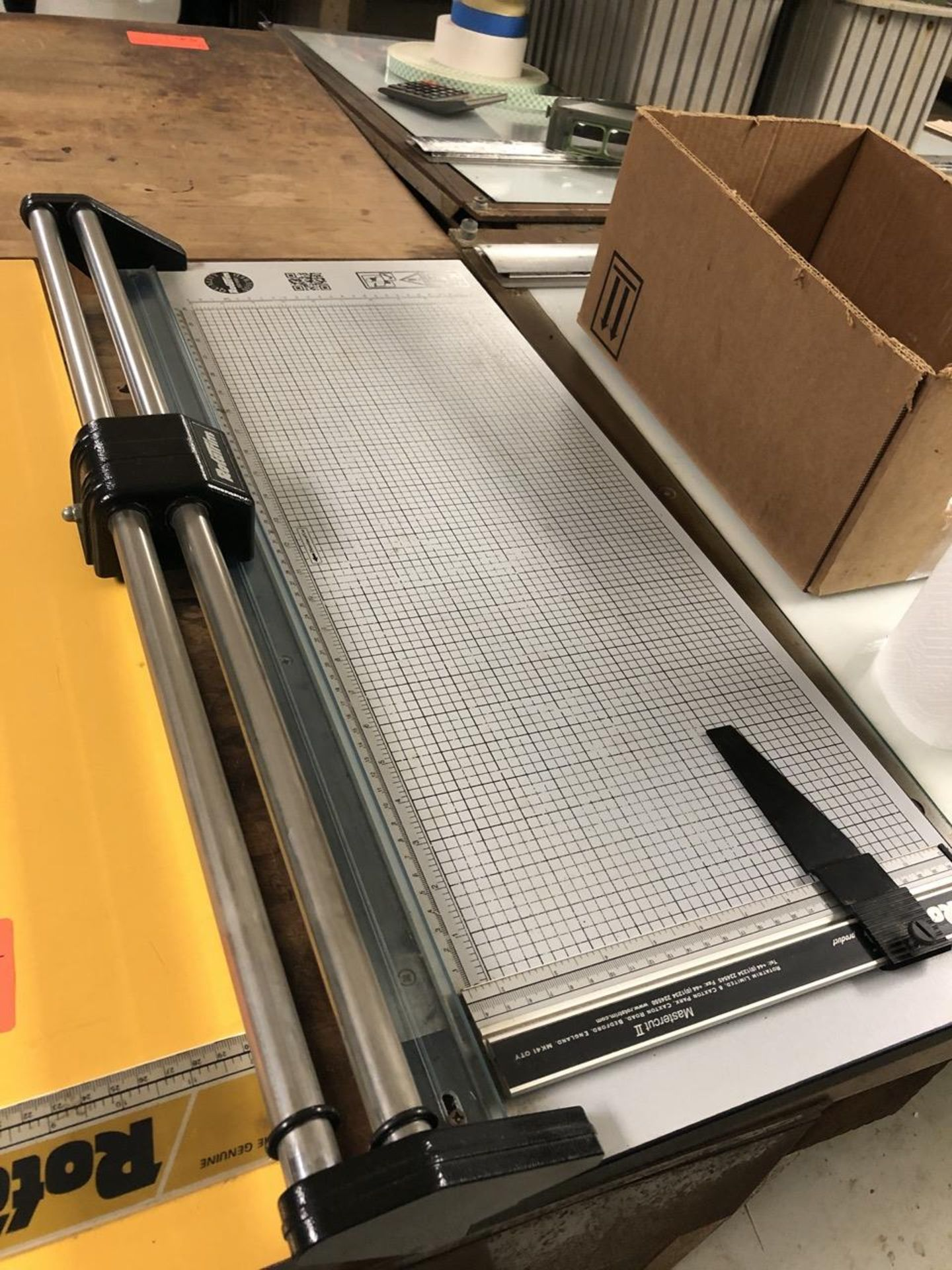 """Lot 57 - Rotatrim Paper Cutter - Trimmer 24"""" Lot of 2"""