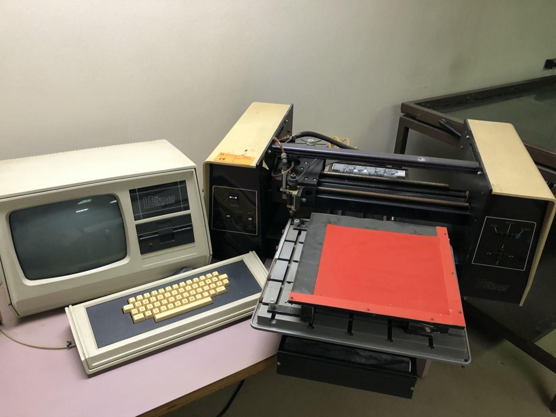 Lot 14 - Hermes Concept 2000 Engraving Machine