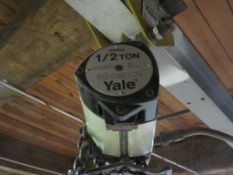 Yale 1/2 Ton Hoist and Trolley