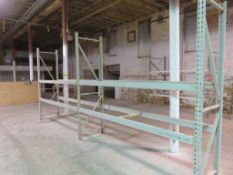 "Warehouse Pallet Racking 2 Sections 69"" X 28""X 102"""