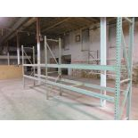 """Warehouse Pallet Racking 2 Sections 69"""" X 28""""X 102"""""""