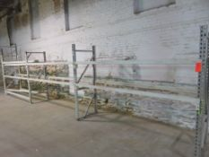 "Warehouse Pallet Racking 3 Sections 60""x 28""x 98"""