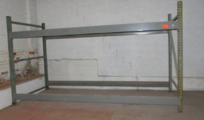 "Warehouse Pallet Racking 1 Section approx. 150"" x 60"" x 84"""
