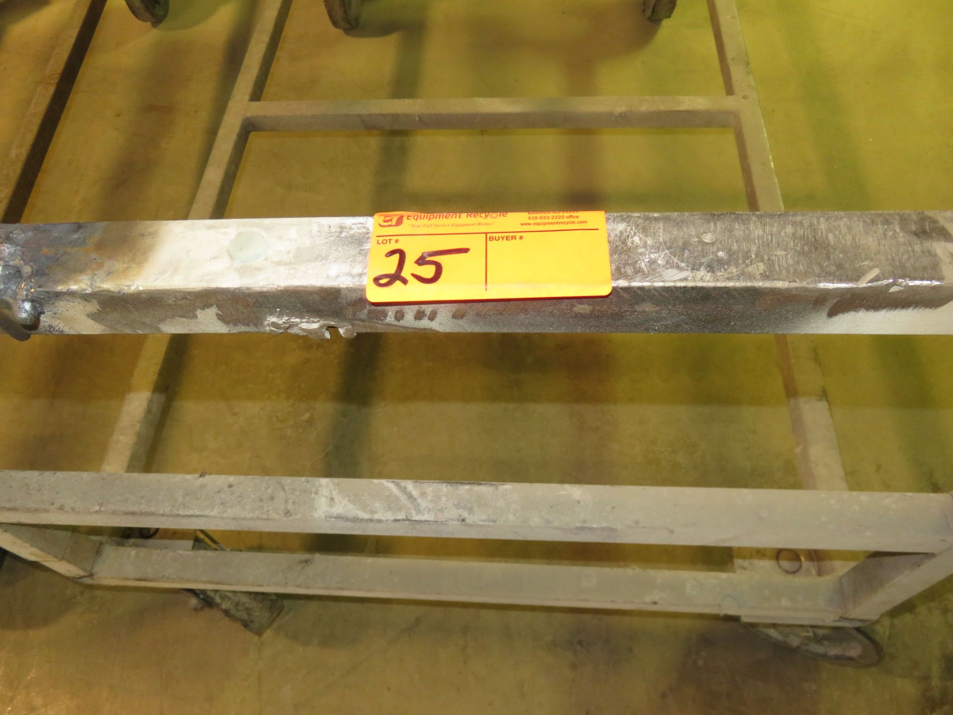 """Heavy Duty Rolling Carts Lot of 19 approx. 64""""x 36""""x 34"""" - Image 4 of 4"""