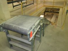 Hytrol Belt Power Conveyor 10' Motorized Slider Multi Floor