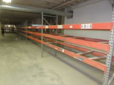 5 Sections of 6' & 8' Warehouse Pallet Racking 12' & 8' Arms