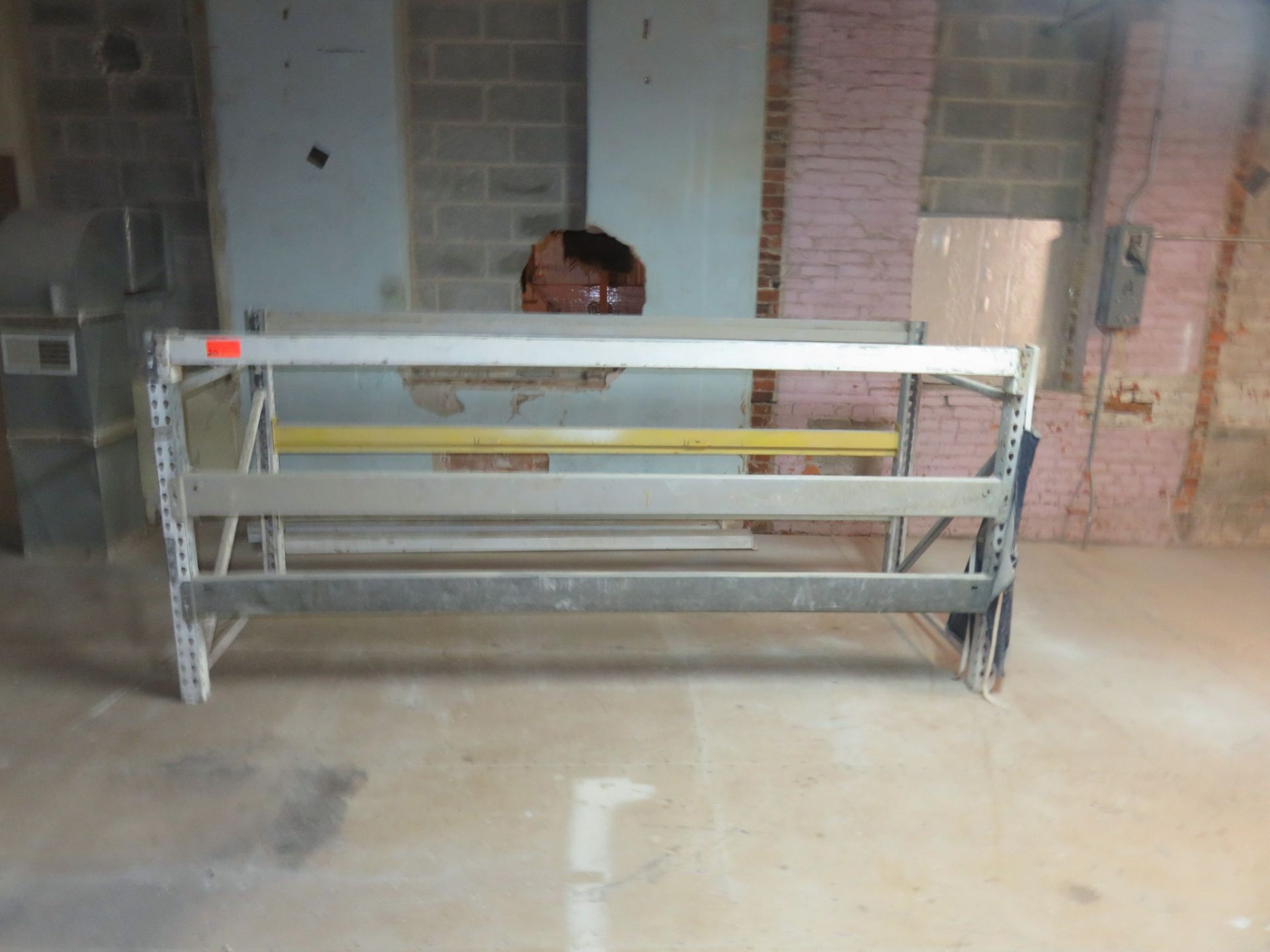 """Warehouse Pallet Racking 1 Section approx. 50""""x 42""""x 108"""""""