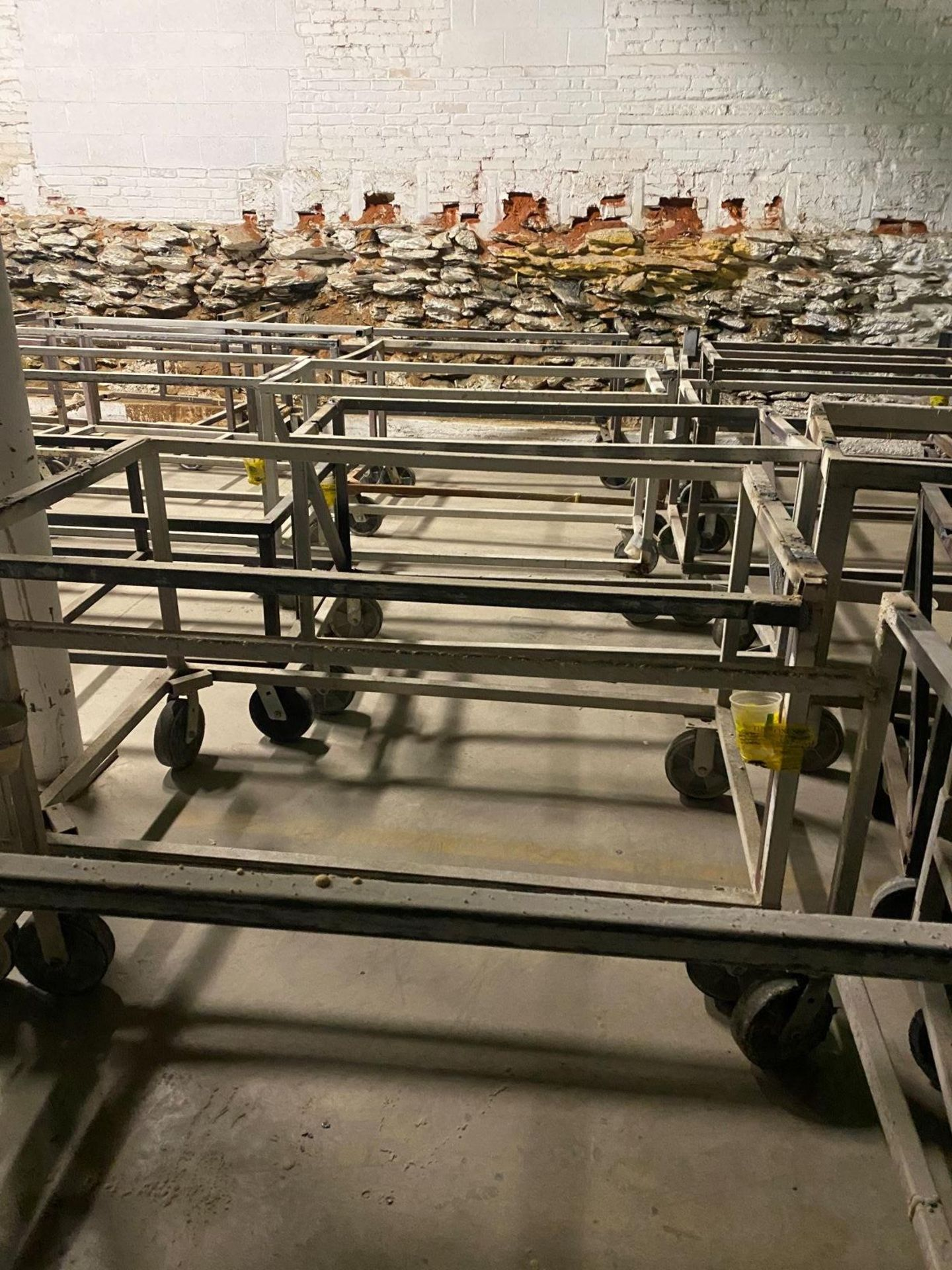 Heavy Duty Rolling Carts Various sizes Lot of approx. 25 - Image 2 of 6