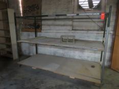 "Custom Welded Rack - Shelving 72""x 40"" x 104"""