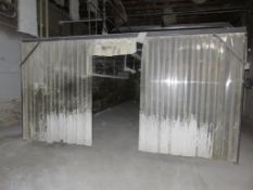 Custom Welded Drying Booth approx. 48' x 16' x 8