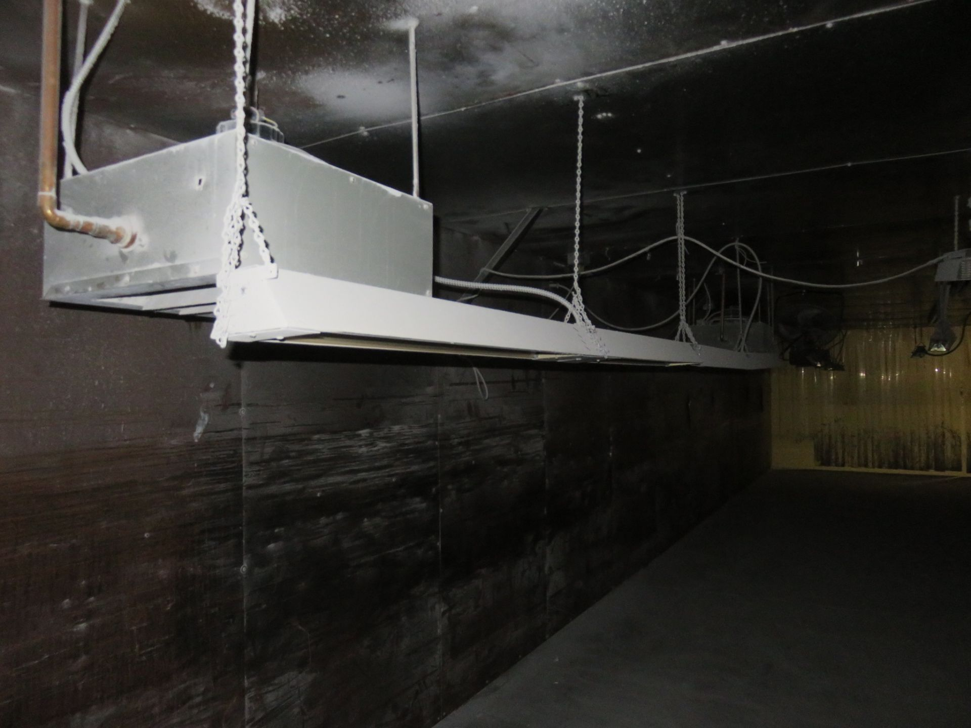 Custom Welded Drying Booth approx. 48' x 16' x 8 - Image 3 of 8
