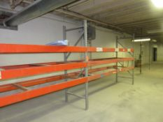 "3 Sections of 12' Warehouse Pallet Racking approx.144 ""x 96"" x 36"""