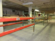 7 Sections of 7' & 8' Warehouse Pallet Racking 7'&8' x 5' x 12'