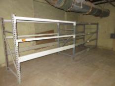 "Warehouse Pallet Racking 2 Sections approx 72""x 42"" X 96"""