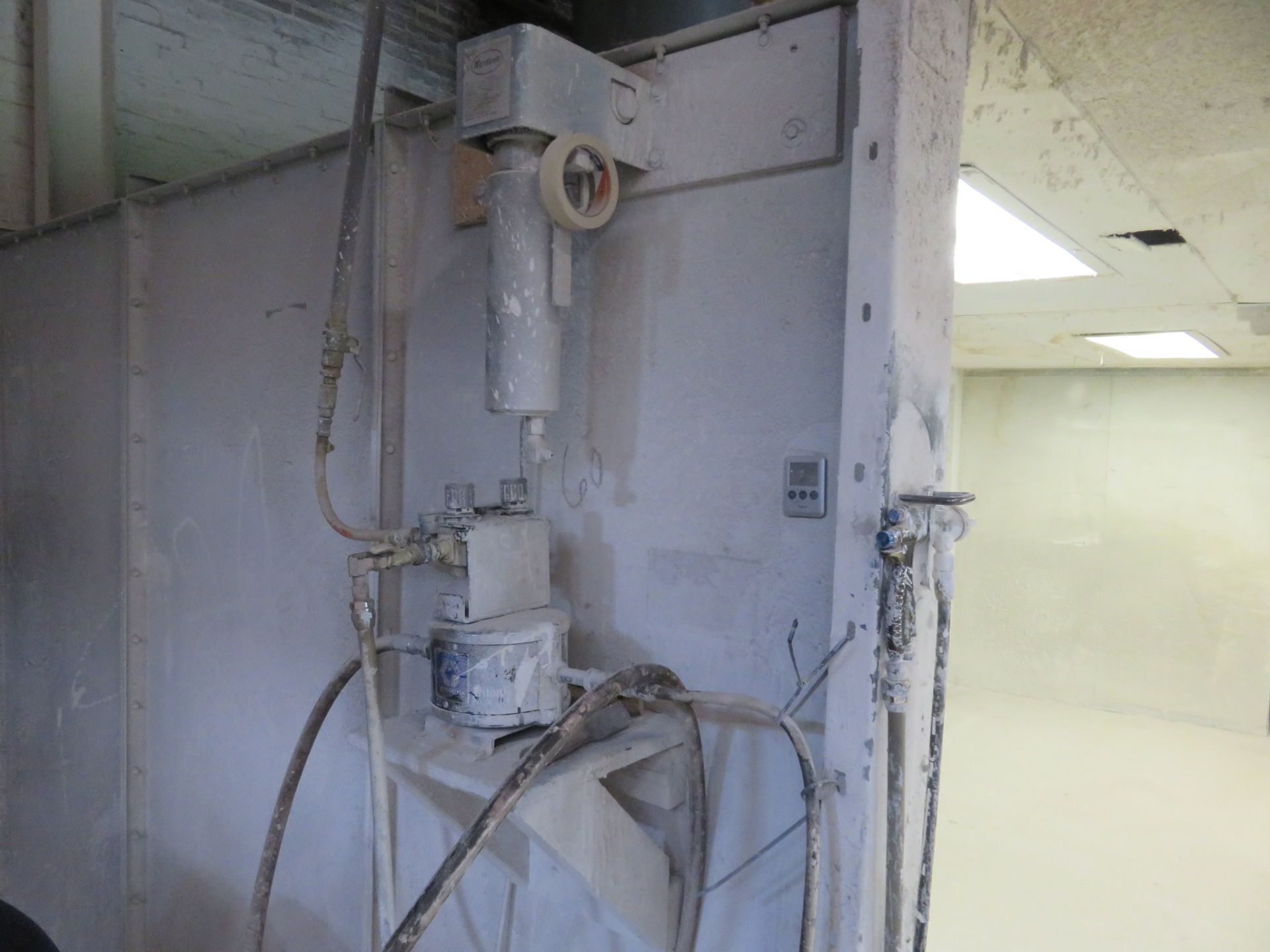 Global Finishing Systems Paint Booth approx 18' x 9' x 7' with a 6' Overhang - Image 2 of 4