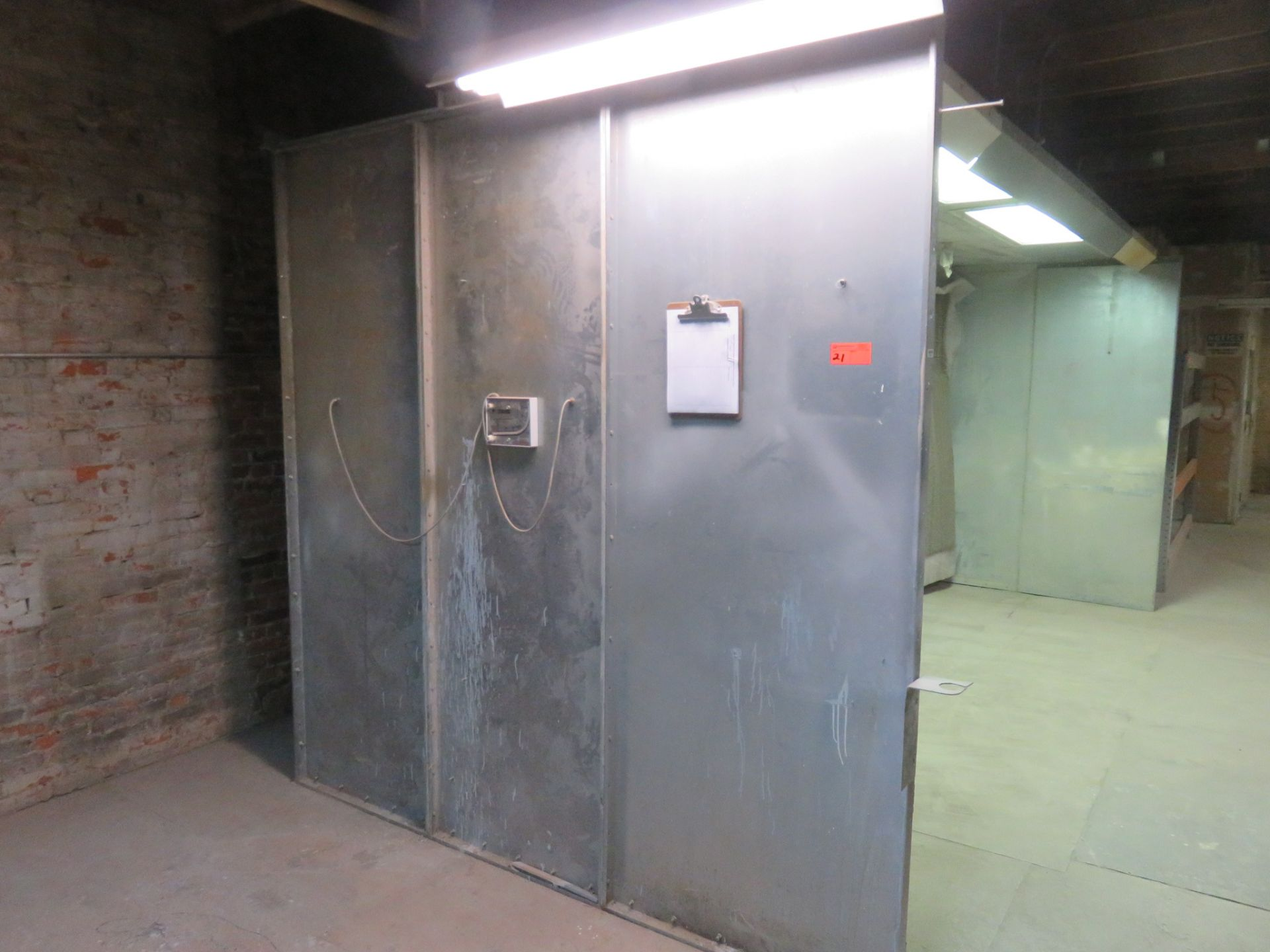 Paint Booth approx. 17 'x 8' x 8' - Image 2 of 4