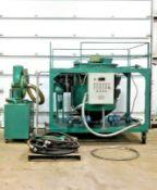 ENGINE OIL RECYCLING SYSTEM LYE-1000. 58 KW. 1000 L/D FLOW. 220 V. 3PH.