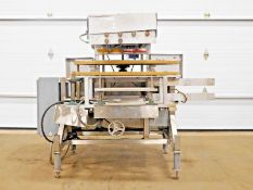 NEW ENGLAND MACHINERY NEILC-4-L INLINE CAP TIGHTENER. 4 SPINDLE.