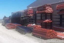 Lot of 8ft and 12ft Pallet Rack Beams