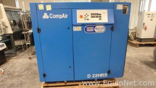 CompAir D22HRS-10A Compressor With 200Gal Vertical Tank