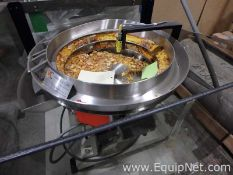 Vibracraft Stainless Steel Vibratory Bowl Feeder For Small Parts