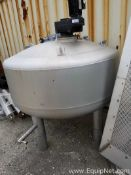 KHS 260 Gallon Stainless Steel Pressure Vessel with Agitation