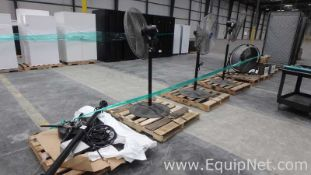 Lot of 5 Pallets With Fans